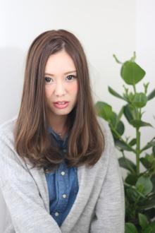 ☆甘さとルーズ感が可愛いセミディ☆|LAVIERE by R-EVOLUTのヘアスタイル