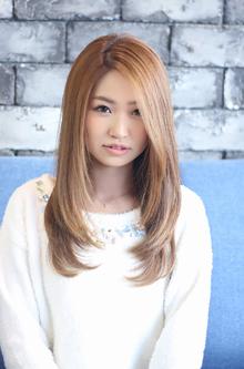 ☆ニュアンスエアリーストレート☆|LAVIERE by R-EVOLUTのヘアスタイル