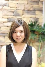 ラフさと甘さが可愛い☆小顔ボブ|LAVIERE by R-EVOLUT LAVIERE のヘアスタイル