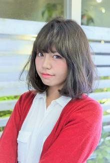 【LAVIERE】おしゃれで可愛いボブ☆外国人風カラー☆西村|LAVIERE by R-EVOLUTのヘアスタイル