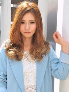 ☆大人かわいいハイライトロング☆|LAVIERE by R-EVOLUTのヘアスタイル