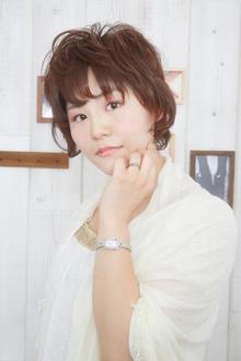 ☆大人かわいいふんわりショート☆|LAVIERE by R-EVOLUTのヘアスタイル
