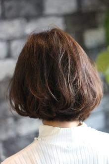 【LAVIERE】大人かわいい/クラシカルショートボブ/西村|LAVIERE by R-EVOLUTのヘアスタイル
