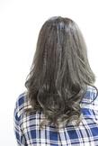 【LAVIERE】 暗髪 グレージュ 西村|LAVIERE by R-EVOLUTのヘアスタイル