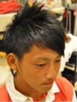 アシメ☆ショート☆ツーブロック|LAVIERE by R-EVOLUTのヘアスタイル