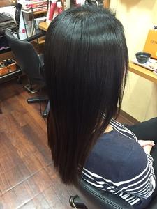 縮毛矯正|美容室Pureのヘアスタイル