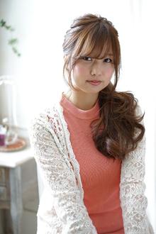 ちょこっとおめかし☆春アレンジ|flare -心-のヘアスタイル