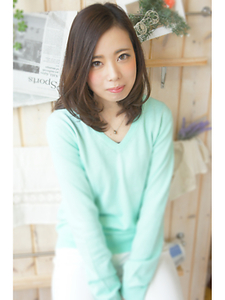 きれい可愛いロブヘア☆|flare -心-のヘアスタイル