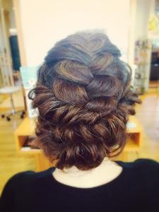 大人可愛いカール編み*haruka* flare -心-のヘアスタイル