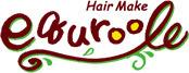 hair make equroole  | ヘアー メイク エクルール  のロゴ