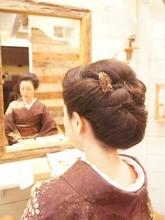 和装アップ|hair make equrooleのヘアスタイル