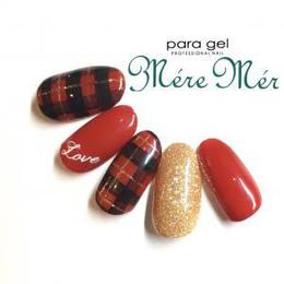 チェックネイル|Mere Mer -Nail-のネイル