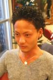 オトナセクシー☆ツーブロック|Mojo scissorsのヘアスタイル