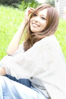 透明感たっぷり☆ロイヤルグレージュ☆|Mojo scissorsのヘアスタイル
