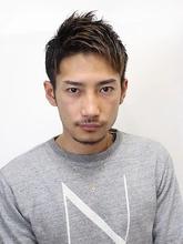アップバングショートスタイル|Nico-Huluのメンズヘアスタイル