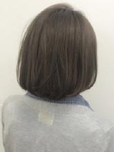 シースルーボブ|Nico-Huluのヘアスタイル