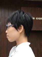レイヤーショート|style comfy のヘアスタイル