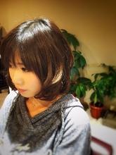 ミディアムボブ|it 柴田 雄のヘアスタイル