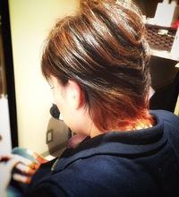 2トーンカラー(ショート)|it 柴田 雄のヘアスタイル