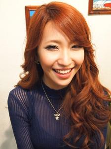 Aラインロングヘアで綺麗☆可愛い☆の2WAYヘアに☆|RIP CURLのヘアスタイル