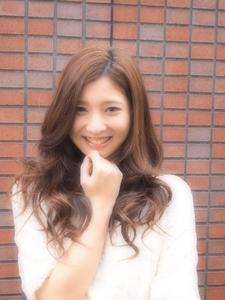 ふわくしゅシフォンスタイルでマイルド女子力アップ☆|RIP CURLのヘアスタイル