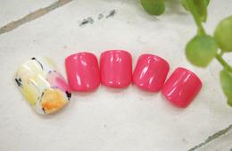 お爪いっぱいのお花★|petit bois -Nail-のネイル