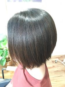 大人ボブ hair spa kalamaのヘアスタイル