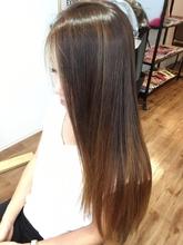 サラつやグラデーション|hair spa kalamaのヘアスタイル
