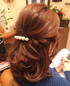 パーティーアップ|髪質改善ヘアエステサロン memoriaのヘアスタイル