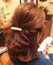 パーティーアップ 髪質改善ヘアエステサロン memoriaのヘアスタイル