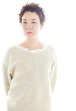 ツイストカールショート|Decollage 和田 昌樹のヘアスタイル