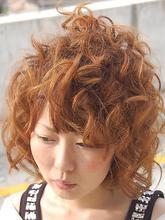 ふんわりと優しいコールドパーマスタイル|Relation hair designのヘアスタイル