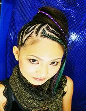 ダンスイベントに!コーンロウ|Splash  のヘアスタイル