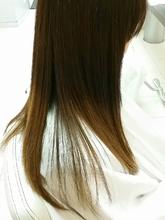 サラサラストレート|美容室 Bonds 木村 誠のヘアスタイル