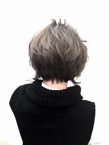 【LILY】グレージュ ボブ☆|LILY SHINSAIBASHIのヘアスタイル