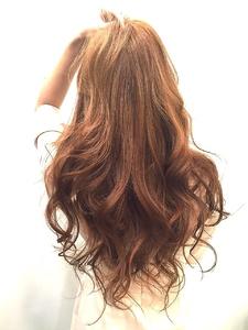 【LILY】コーラルベージュ☆|LILY SHINSAIBASHIのヘアスタイル
