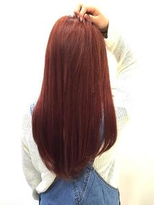 【LILY】スモーキーバイオレット☆|LILY SHINSAIBASHIのヘアスタイル