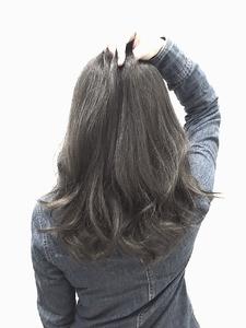 【LILY】グレイアッシュ☆|LILY SHINSAIBASHIのヘアスタイル