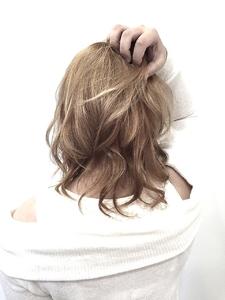 【LILY】ピンクアッシュベージュ☆|LILY SHINSAIBASHIのヘアスタイル