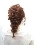 【LILY】ルーズ編み込みダウンスタイル☆|LILY SHINSAIBASHIのヘアスタイル