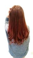 【LILY】オレンジベージュ☆|LILY SHINSAIBASHIのヘアスタイル