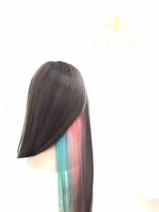 【LILY】 グレーベージュ|LILY SHINSAIBASHIのヘアスタイル