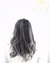 【LILY】 モノトーングレー|LILY SHINSAIBASHIのヘアスタイル