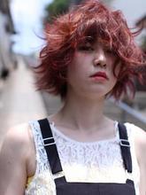 ガーリーエアーショート|clashのヘアスタイル