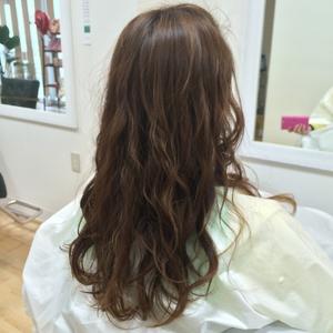 ゆるふわパーマスタイル☆ hair's moi!のヘアスタイル