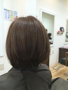 つやつやボブ☆ hair's moi!のヘアスタイル