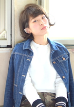 ■MUSEUM■外ハネアレンジ♪フェザーボブ|MUSEUMのヘアスタイル