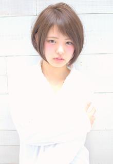 ★MUSEUM★大人かわいいショート 1 三村昇|MUSEUMのヘアスタイル