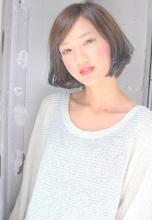 【MUSUEM】ツヤBOB|MUSEUMのヘアスタイル