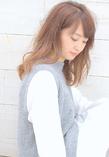 ■MUSEUM■オイルカラ—で柔らかピンクブラウン♪2